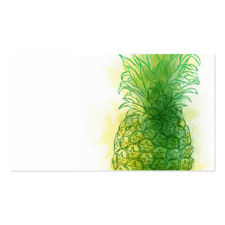 Fresh Pineapple Pack Of Standard Business Cards