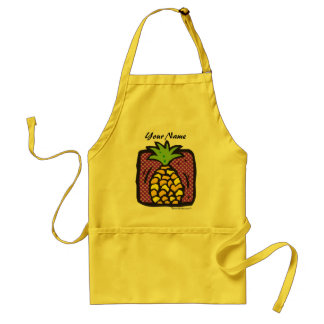 Fresh Pineapple. Standard Apron