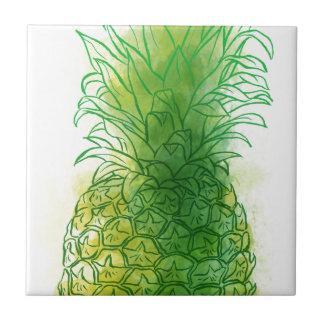 Fresh pineapple tile