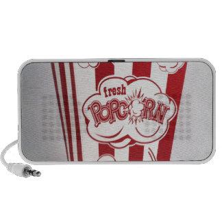 Fresh Popcorn Bag red Vintage iPod Speakers
