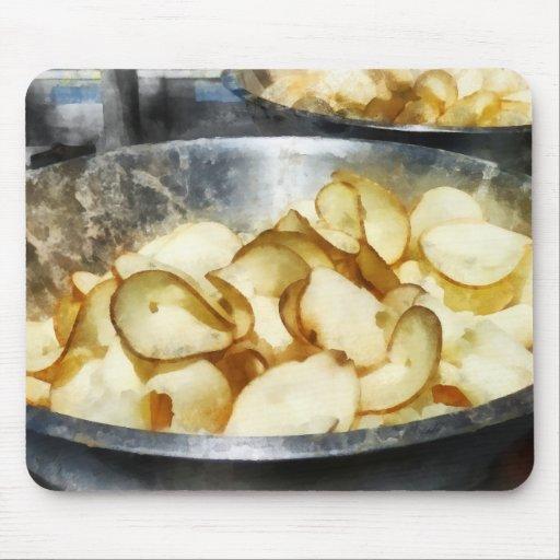 Fresh Potato Chips Mousepad