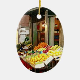 Fresh Produce Christmas Ornament