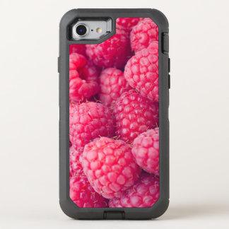 Fresh raspberries OtterBox defender iPhone 8/7 case