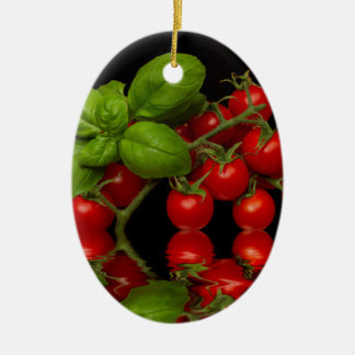 Fresh Red Cherry Tomatoes Christmas Ornament