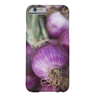 Fresh red onions at a New Jersey farmer's Barely There iPhone 6 Case
