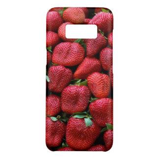 Fresh Red Strawberries Photo Print Case-Mate Samsung Galaxy S8 Case