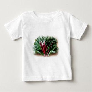 Fresh Rhubarb Stalks and Leaves Baby T-Shirt