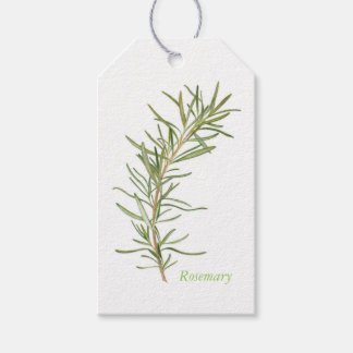 Fresh Rosemary Gift Tags