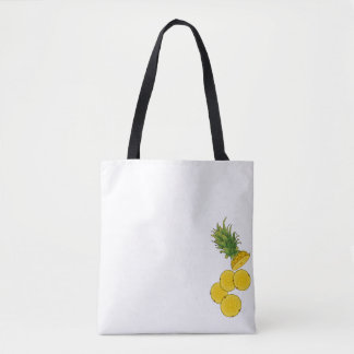 Fresh Sliced Pineapple Tote Bag