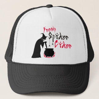Fresh Spider Cider Trucker Hat