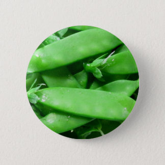 Fresh Spring Peas 6 Cm Round Badge