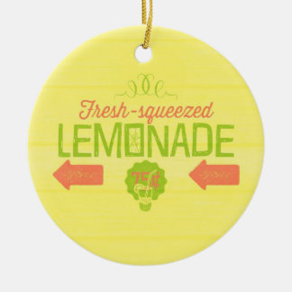 Fresh Squeezed Lemonade Christmas Ornament