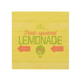 Fresh Squeezed Lemonade Wood Print