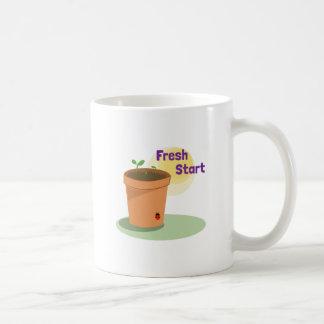 Fresh Start Basic White Mug
