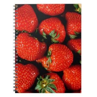 Fresh Strawberries Notebooks