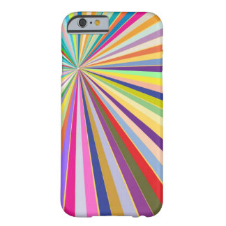 Fresh striped background barely there iPhone 6 case