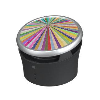 Fresh striped background bluetooth speaker