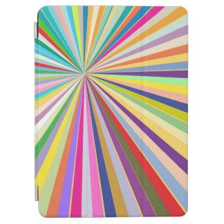 Fresh striped background iPad air cover