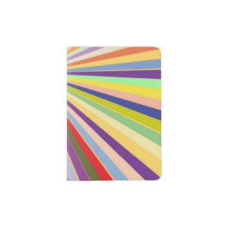 Fresh striped background passport holder