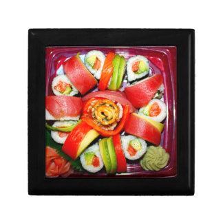 Fresh Sushi Platter Trinket Boxes