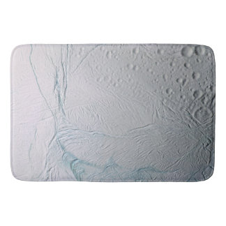 Fresh Tiger Stripes on Enceladus Bath Mat