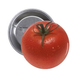 Fresh Tomato 6 Cm Round Badge