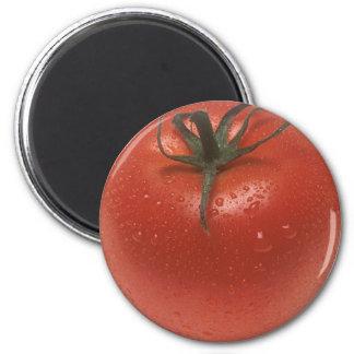 Fresh Tomato 6 Cm Round Magnet