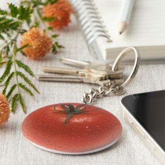 Fresh Tomato Key Ring