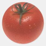 Fresh Tomato Round Sticker