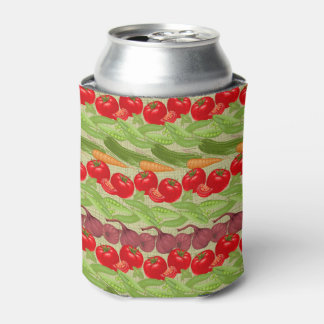 Fresh Vegetable Pattern Can Cooler