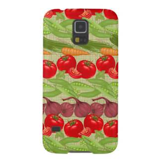 Fresh Vegetable Pattern Case For Galaxy S5