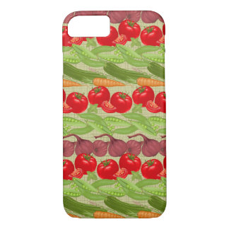 Fresh Vegetable Pattern iPhone 8/7 Case