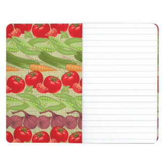 Fresh Vegetable Pattern Journal