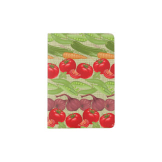 Fresh Vegetable Pattern Passport Holder