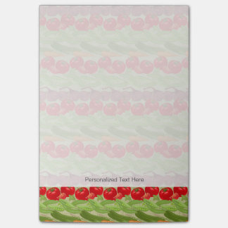Fresh Vegetable Pattern Post-it Notes