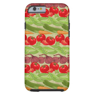 Fresh Vegetable Pattern Tough iPhone 6 Case