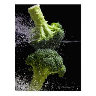 Fresh Vegetables & Food Hygiene Postcard