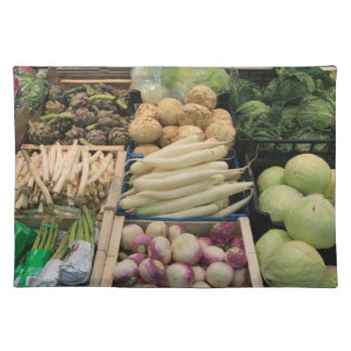 fresh vegetables placemat