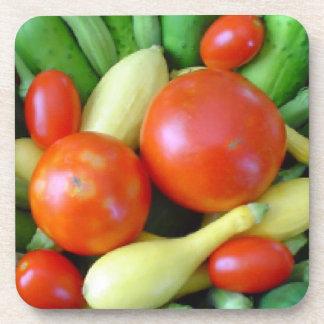 Fresh Veggies Coaster Set