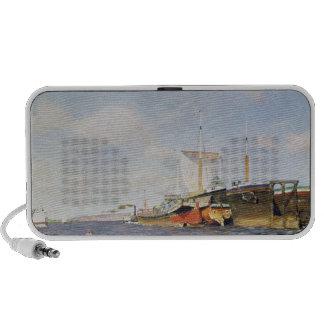 Fresh Wind on the Volga, 1895 iPod Speakers
