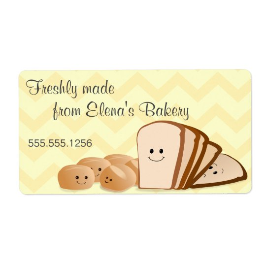Freshly Baked Bread Avery Label Shipping Label