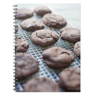 Freshly Baked Gluten-free Chocolate Cookies Notebook