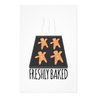 Freshly Baked Custom Stationery