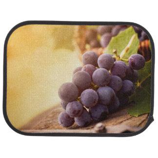 Freshly Harvested Grapes Car Mat