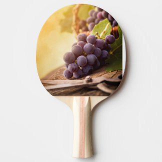 Freshly Harvested Grapes Ping Pong Paddle