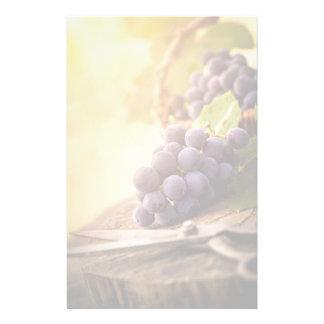 Freshly Harvested Grapes Stationery