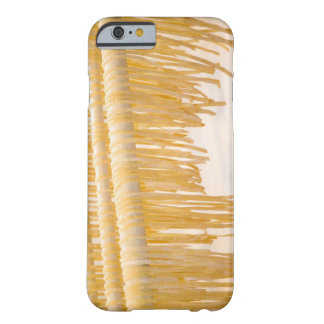 Freshly made pasta drying on a wooden rack barely there iPhone 6 case