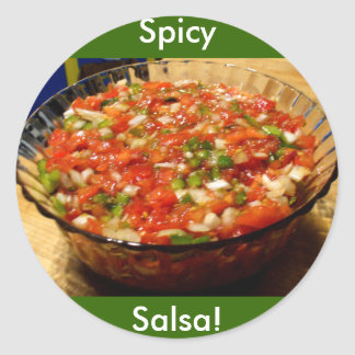 Freshly Made Salsa Stickers