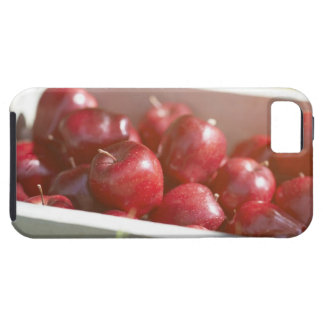 Freshly picked apples in tray. iPhone 5 covers