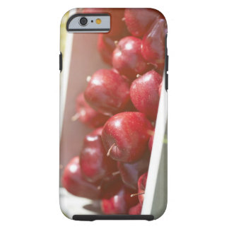 Freshly picked apples in tray. tough iPhone 6 case